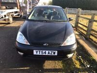 FORD FOCUS BLACK 3 DOOR 1.6 AUTOMATIC 2005 £895 WE HAVE 2005 £625 OR 2004 £550 3 IN STOCK