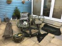 Carp fishing full set up