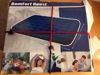 Air bed: Bestway air bed, King size, opened and NEVER used