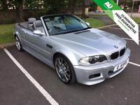 2004 (53) BMW M3 CONVERTIBLE SMG/ 81,000miles/ FSH