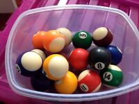 Pool Balls need gone [Complete set]