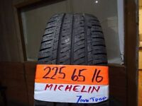 matching set of 225 65 16 michelins 7mm tread £120 FOR SET sup &fitd opn 7 days 5pm
