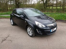 Vauxhall corsa 2014 1.2 petrol excite , low miles , new mot , great car