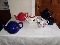 Teapot / tea pot, colllection of teapots, perfect condition