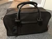 Howick Brown Leather Holdall Bag - NEW