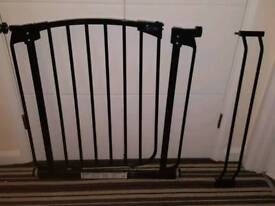 Baby gate for sale comes with extention as shown in pic pick up only Bentley