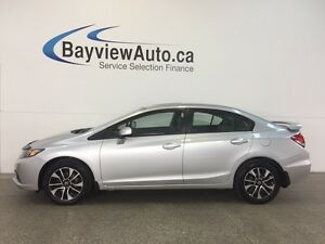 2013 Honda CIVIC EX- ALLOYS! SUNROOF! HEATED SEATS! BLUETOOTH!