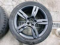 "Seat Ibiza FR 16"" alloy wheels and tyres."