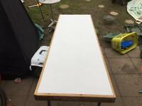 Car boot folding table market trader