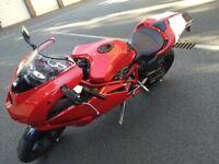 Ducati 999 Mono in Red