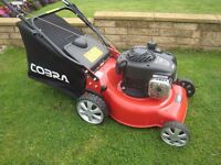 Cobra M40SPB Petrol Lawn Mower Self Propelled With Fully Serviced Briggs & Stratton 450E Engine