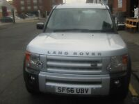 56 Plate Land Rover Discovery T.D.I. Diesel.