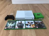 Xbox one s 2TB limited edition with games