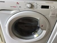 Hoover 1 yr old 8kg capacity 1600rpm washing mchehine for sale no longer required no faults