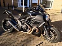 Diavel 2011 black 6941 genuine miles MOT