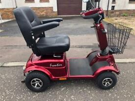 Frontier 8 mph mobility scooter (new tyres)