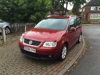 VW Touran | 2.0 Diesel | Low Miles | DSG | Sat Nav | Bluetooth | DVD | iPod | Dual Zone Climate