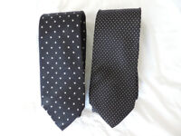 2 x Vintage Silk ties from Harrods of London