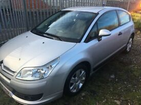 Citroen C4 1.6 HDi (Diesel) 16v VTR 3dr for Spares or Repairs ***Great Engine and gearbox***