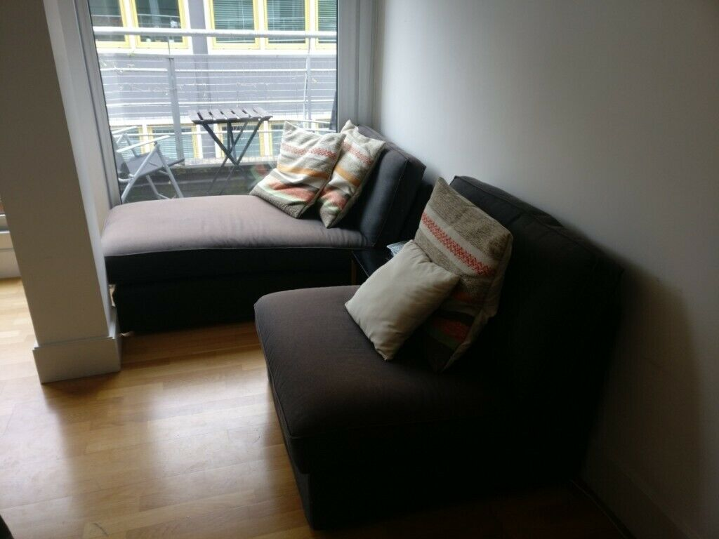 Excellent Ikea Kivik Chaise Longue Matching Sofa Optional Decorative Pillows In Islington London Gumtree Inzonedesignstudio Interior Chair Design Inzonedesignstudiocom