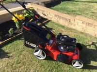Cobra M51 SPH Petrol Lawnmower Self Propelled Fully Serviced Great Mower Great Results
