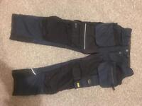 Snickers Work Trousers size 88, Navy (Ruffwork and AllRound Work)