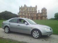 FORD MONDEO 2.0TDCi, 2003 53-REG, SILVER with AVERAGE MILES and **AIR CONDITIONING**..!!!
