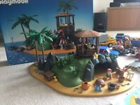 Playmobil Island, cars, motor bikes, figures & accessories