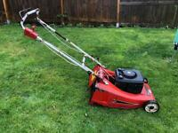 Mount field Briggs and Stratton roller mower electric start.