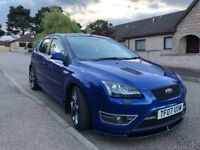 Ford Focus st-2 2007 rare 5 door in performance blue 70k full service long mot swap px van or car