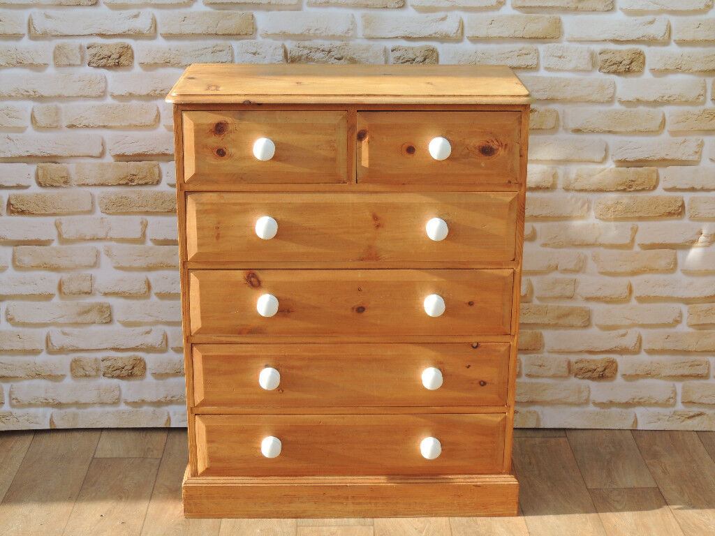 Ceramic Chest of Drawers Farmhouse pine (Delivery)