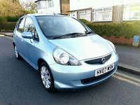 Honda Jazz 2007 Automatic light blue-5 doors-Very low millage -drive like new