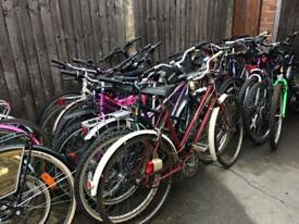 Selection of bicycles for sale