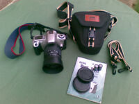 canon EOS 300 film camera, with 28-80mm lens comes with case and full instructions ALL NEARLY NEW