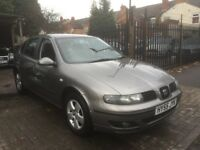2005 Seat Leon 1.6 16v SX 5dr**ONLY 1 FORMER KEEPER FROM NEW**LAST SERVICED AT 108,690**FSH**2 KEYS*