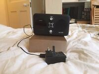 Revo Domino D3 - Network audio player / DAB / FM radio tuner with iPhone / iPod cradle - black