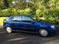 VAUXHALL ASTRA 1.6 CLUB 5 MONTHS MOT AND SERVICE HISTORY-WE CAN DELIVER THIS CAR TO YOU TODAY