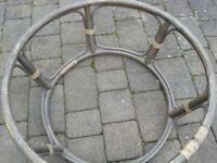 Moon chair wicker chair