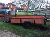 Heavy duty professionally made trailer 10x4. Brakes. Suspension recently renovated