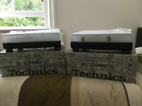 2 X Turntables Technics SL 1210 MK5 & 2 X Needles Ortofon Concorde Pro S