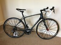 Specialized ruby 54cm woman's road endurace bike, full shimano ultegra di2 electronic groupset