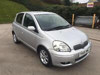 **1 OWNER+12 MONTHS MOT+TOYOTA YARIS COLOUR COLLECTION 1.3 PETROL (2005 YEAR)**