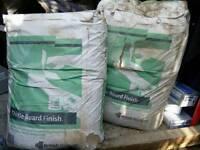 Free Bags of Plaster + some leftover primer