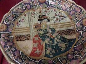 Japanese guilted plate