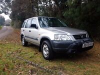 SNOW IS COMING GRAB THIS CHEAP HONDA CRV 4X4 WITH 5 MONTHS MOT QUICK*£495 ONO*