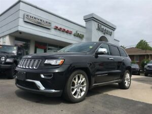 2015 Jeep Grand Cherokee SUMMIT,LEATHER,ALLOYS,PANOROOF,NAV