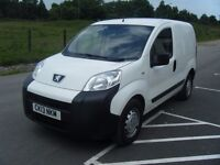 2013 PEUGEOT BIPPER 1.3 HDI SPORT NEW MOT FSH 1 OWNER SERIOUSLY TIDY VAN NO OFFERS