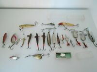 A selection of vintage lures