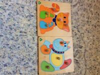 Early learning centre wooden puzzles