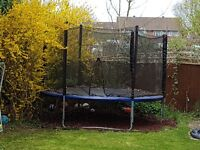 10 Foot Trampoline Set with Safety Enclosure